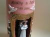 Hochzeitskerze Mandy & Sven