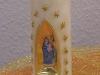 Weihnachtskerze Maria & Jesus