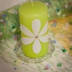 Hübsche Kerze