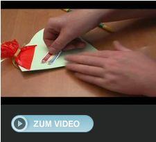 Video-Anleitung für Einladungskarte