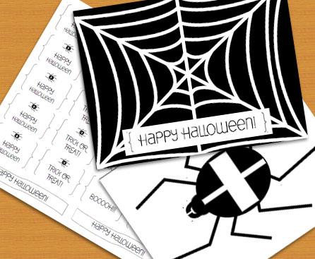 Kostenlose Druckvorlagen für eure Halloween Deko | Bastelatelier ...